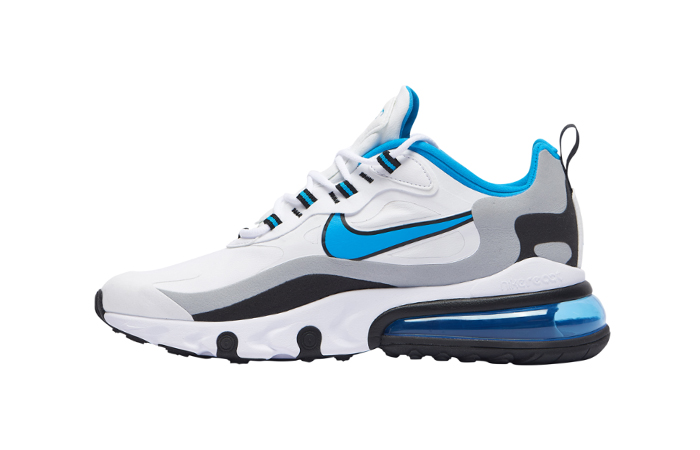 Nike Air Max 270 React White Blue CT1280-101 01