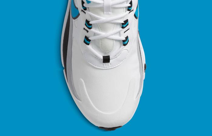 Nike Air Max 270 React White Blue CT1280-101 07