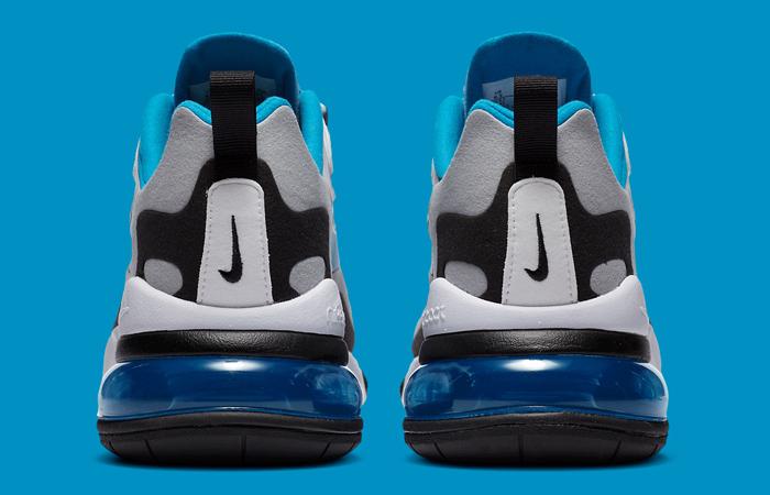 Nike Air Max 270 React White Blue CT1280-101 08