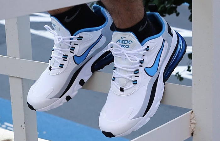 Nike Air Max 270 React White Blue Release Date Is So Closer ft