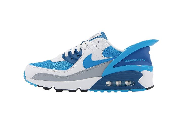 Nike Air Max 90 Flyease Laser Blue 01