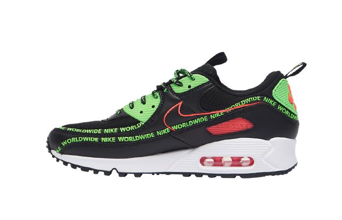 Nike Air Max 90 Worldwide Pack Black Multi CK6474-001 01