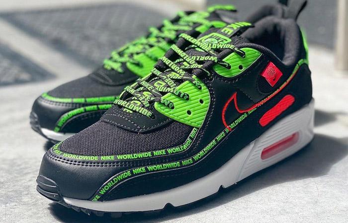 Nike Air Max 90 Worldwide Pack Black Multi CK6474-001 - Fastsole