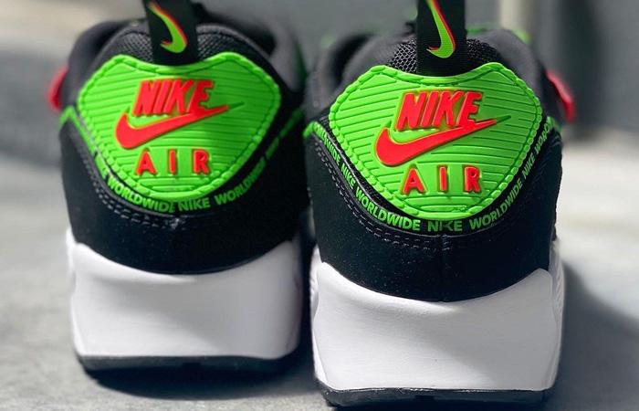 Nike Air Max 90 Worldwide Pack Black Multi CK6474-001 04