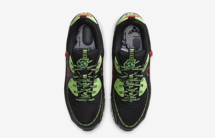 Nike Air Max 90 Worldwide Pack Black Multi CK6474-001 07