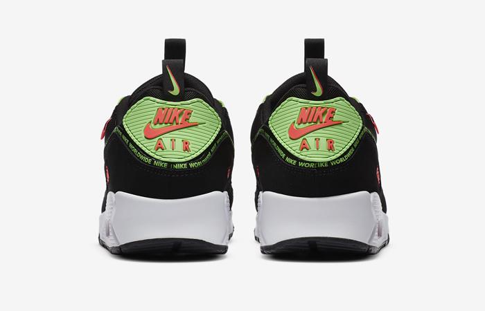 Nike Air Max 90 Worldwide Pack Black Multi CK6474-001 08