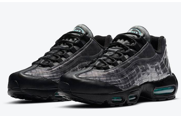 Nike Air Max 95 Black Aurora Grey DA7735-001 front