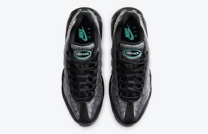 Nike Air Max 95 Black Aurora Grey DA7735-001 middle
