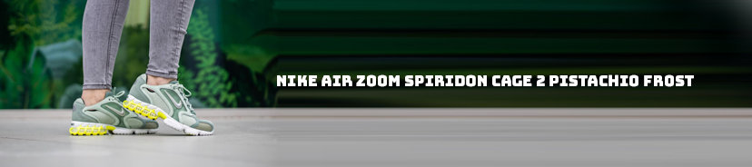 Nike Air Zoom Spiridon Cage 2 Pistachio Frost