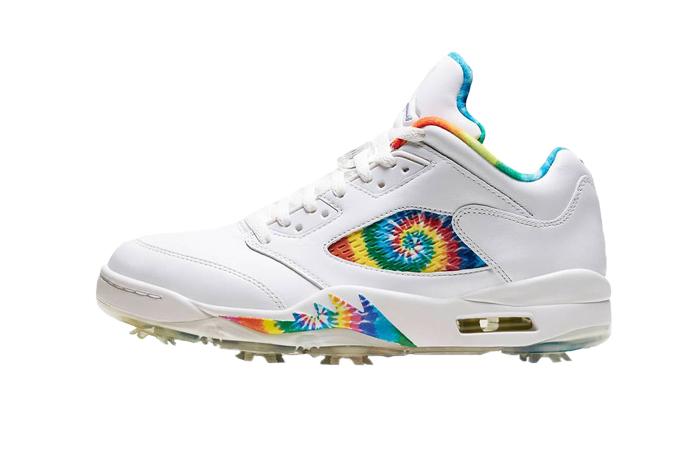 Nike Jordan 5 Low Golf Tie Dye CW4205-100 01