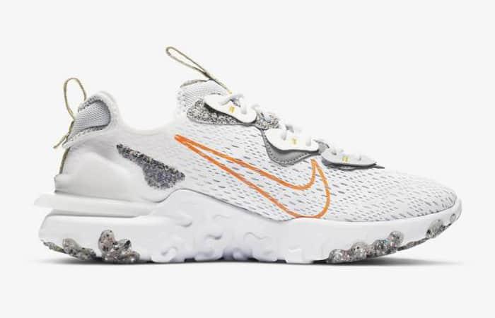 Nike React Vision White Total Orange DA4679-100 03