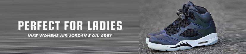 Nike Womens Air Jordan 5 Oil Grey