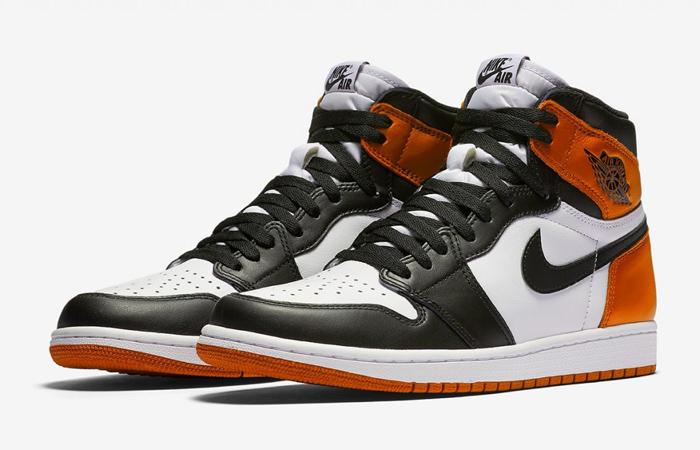 Official Look At The Air Jordan 1 High OG Black Toe Shattered Backboard Orange f