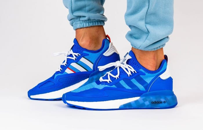 """On Foot Look At The Ninja adidas ZX 2K Boost """"Time In"""" f"""