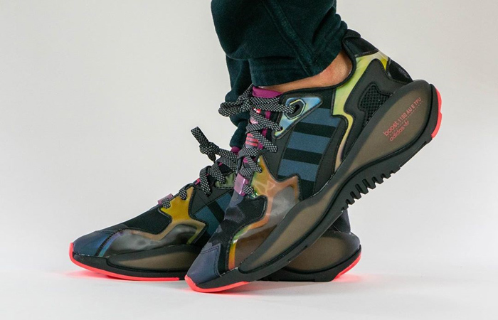 """On Foot Look At The atmos adidas ZX Alkyne """"Iridescent"""" f"""