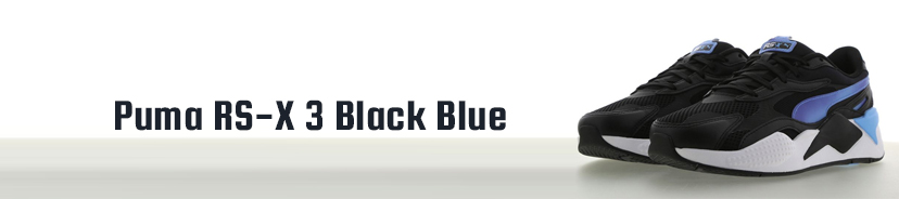 Puma RS-X 3 Black Blue