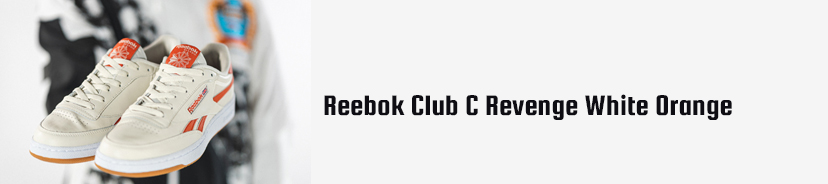Reebok Club C Revenge White Orange