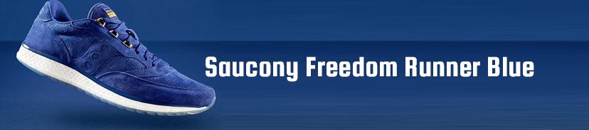 Saucony Freedom Runner Blue