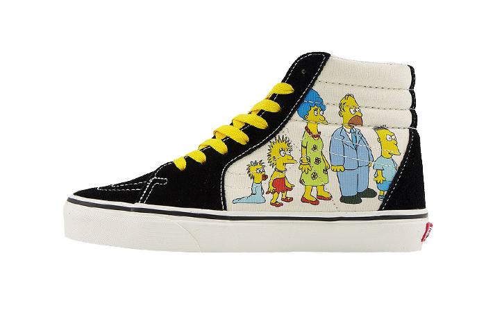 Simpsons Vans Pack SK8-Hi 1987-2020 Black VN0A4BV617E 01