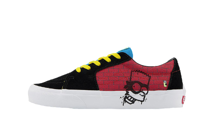Simpsons Vans Pack SK8-Low El Barto VN0A4UUK17A 01