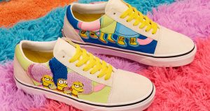 The Famous Television Series Simpsons Characters Can Be Seen In The Upcoming Vans! 01