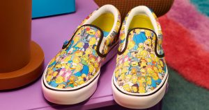 The Famous Television Series Simpsons Characters Can Be Seen In The Upcoming Vans! 05
