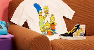 The Famous Television Series Simpsons Characters Can Be Seen In The Upcoming Vans! 07