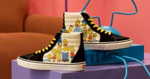 The Famous Television Series Simpsons Characters Can Be Seen In The Upcoming Vans