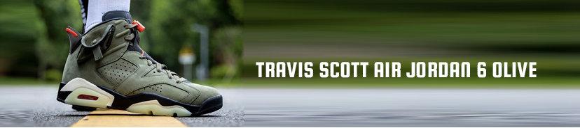 Travis Scott Air Jordan 6 Olive