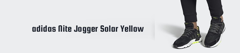 adidas Nite Jogger Solar Yellow