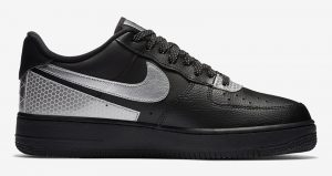 3M And Nike Air Force 1 Low Teamed Up For Another Collaboration In Black And Silver Colourways 02