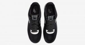 3M And Nike Air Force 1 Low Teamed Up For Another Collaboration In Black And Silver Colourways 03