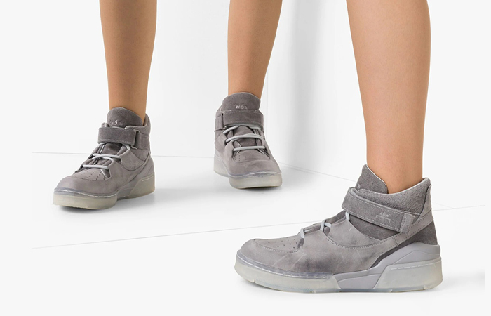 A Cold Wall Converse ERX 260 Mid Grey 168176C on foot 01