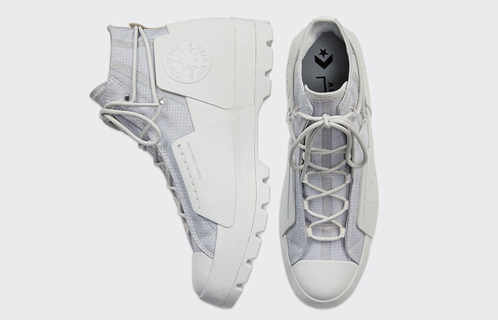 A Cold Wall Converse Lugged High Grey 168177C 05