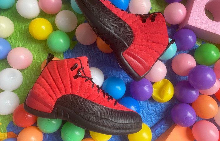 "A Glance At The Air Jordan 12 ""Reverse Flu Game"" ft"