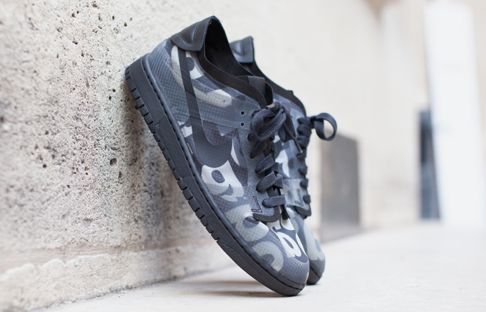 Comme des Garcons Nike Dunk Low Print Black Ash Only Available At Offspring! f