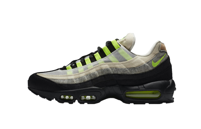 Denham Nike Air Max 95 Black Volt DD9519-001 01