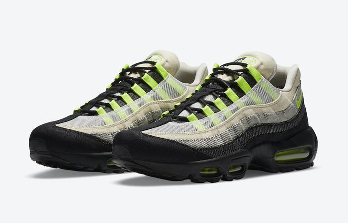 Denham Nike Air Max 95 Black Volt DD9519-001 03