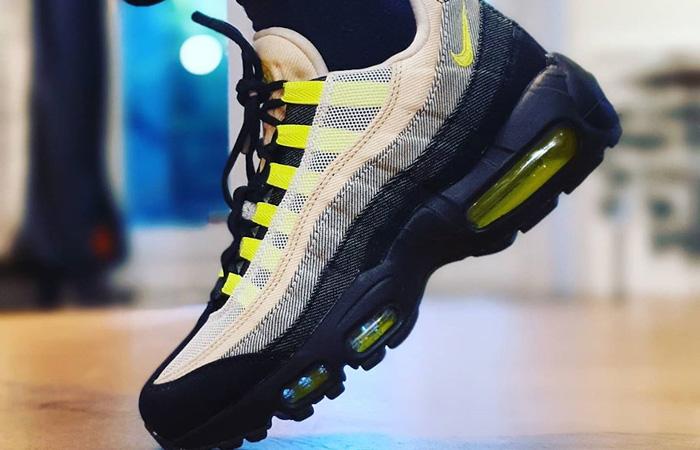 Denham Nike Air Max 95 Black Volt DD9519-001 07