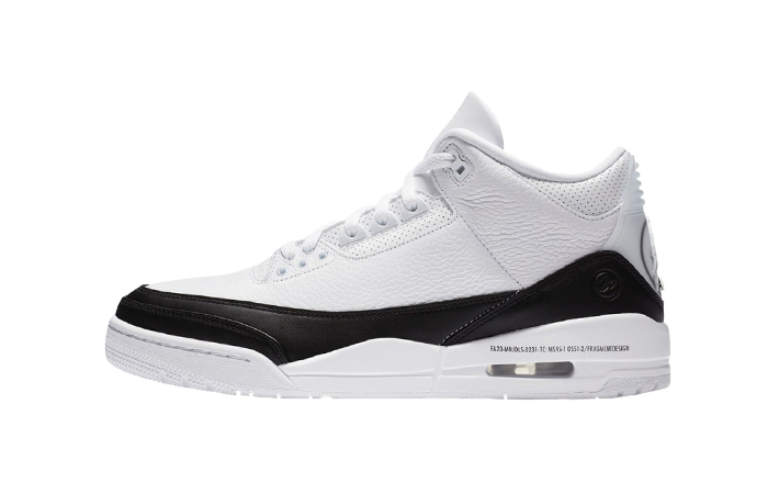 Fragment Air Jordan 3 White Black DA3595-100 01