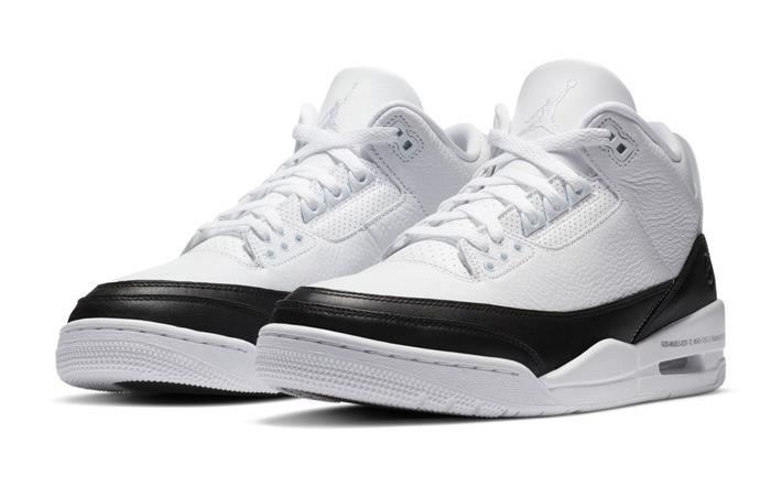 Fragment Air Jordan 3 White Black DA3595-100 02