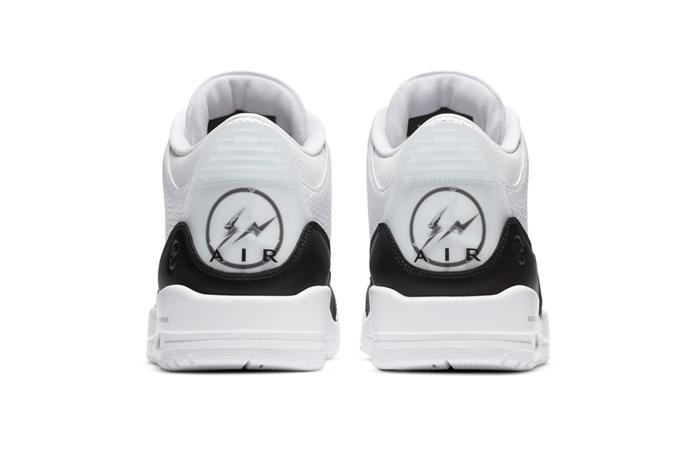 Fragment Air Jordan 3 White Black DA3595-100 05