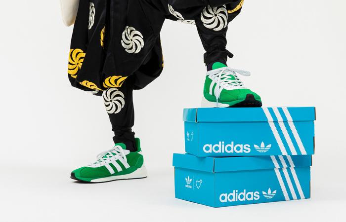 Human Made adidas Tokio Pine Green FZ0550 02