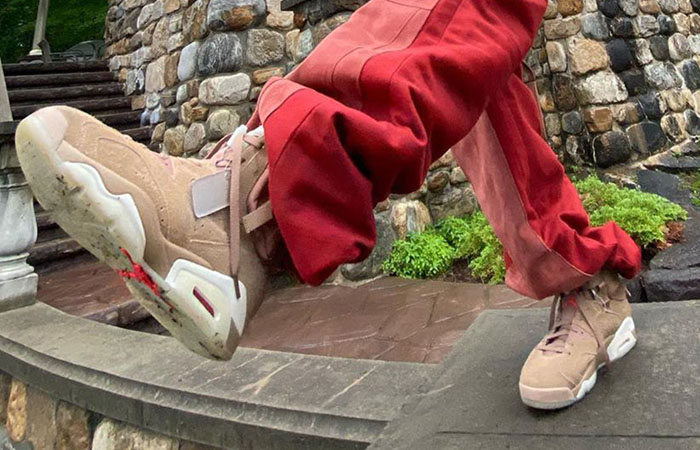 Images Exposed Of Unreleased Travis Scott Air Jordan 6 ft