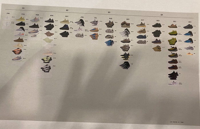 Kanye West Displays adidas YEEZY 2020 Collection Releases ft
