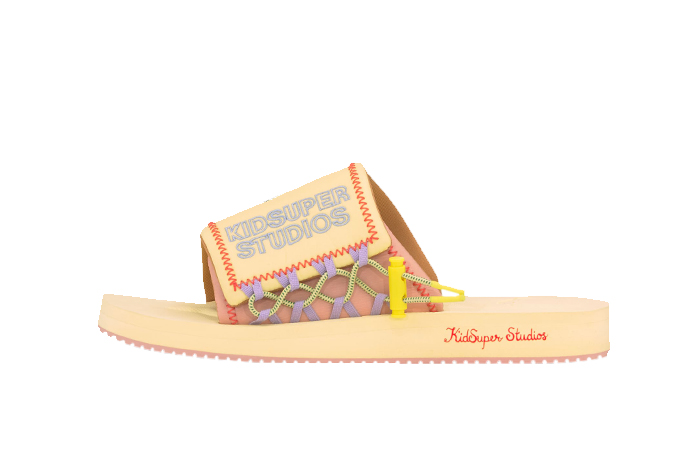 KidSuper PUMA Wilo Slide Yellow Peach 373543-01 01