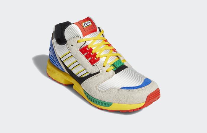LEGO adidas ZX 8000 Yellow Blue FZ3482 05
