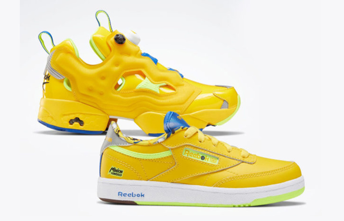 Most Favourite Collaboration Minion And Reebok Collection Will Drop Next Month f