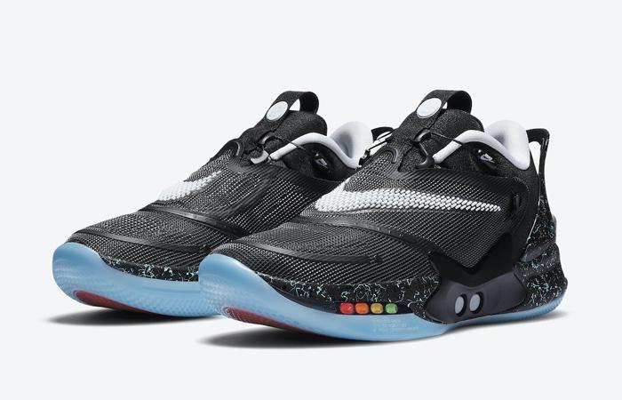 Nike Adapt BB 2.0 Black Mag Black CV2441-002 04