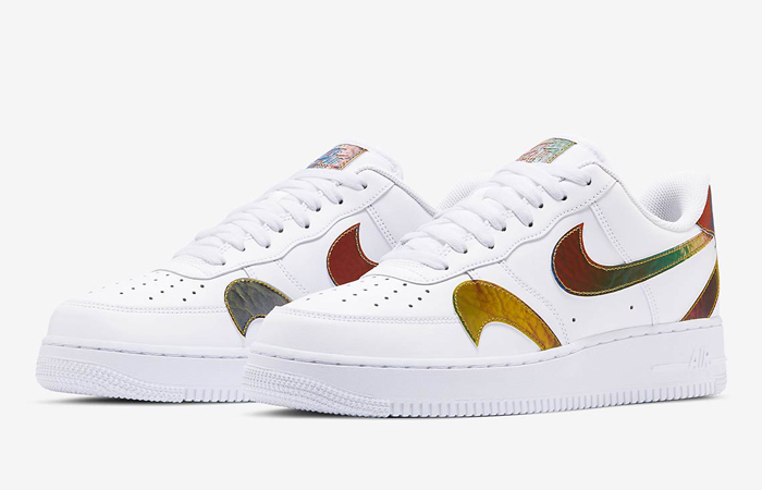 Nike Air Force 1 Misplaced Swoosh Multi CK7214-101 03